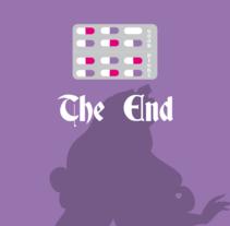 The End - Cartelería . A Design, Illustration, Editorial Design, and Fine Art project by Paula Cubilles Portalés         - 17.06.2015
