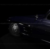 Mercedes 300SL. Um projeto de Design, 3D e Design de automóveis de Miguel Sanchez - 19-06-2015
