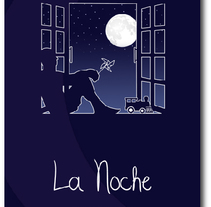 La Noche. A Advertising, and Graphic Design project by Juliana Muir         - 21.06.2013