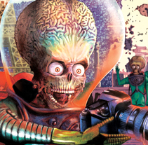 Mars Attacks: Mars tourism. A Illustration project by Amparo Madera Albors - 25-11-2015