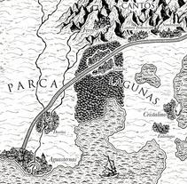 """Mapa para """"El final del duelo"""". Un proyecto de Diseño, Ilustración, Diseño editorial y Bellas Artes de Marta Maldonado - 22-06-2015"""