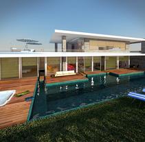 BEACH HOUSE . Um projeto de Design, 3D e Arquitetura de interiores de Carmen San Gabino - 27-06-2015