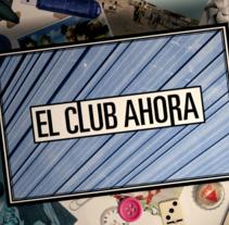 El Club Ahora. Um projeto de Cinema, Vídeo e TV e Animação de Sergi Esgleas         - 29.06.2015