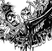 Bucle. Un proyecto de Ilustración y Diseño de personajes de Chiko  KF - Miércoles, 01 de octubre de 2014 00:00:00 +0200