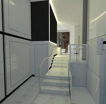 PROYECTO 3D  INTERIORISMO PORTAL EN MADRID. A Architecture, Interior Architecture, Interior Design, and Lighting Design project by Lumasa Proyectos         - 06.07.2015