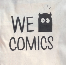 WE COMICS. A Design&Illustration project by Álex Martínez Ruano - 08-07-2015