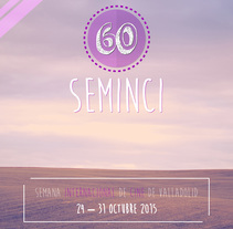 Cartel 60 SEMINCI Punto de encuentro. A Design, Illustration, Advertising, Photograph, Film, Video, TV, Br, ing, Identit, Editorial Design, Events, Graphic Design, T, pograph, and Film project by Koke Hernán         - 10.07.2015