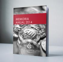 Memoria Anual CMCH. Um projeto de Design editorial de eva_maria_romero - 30-04-2015