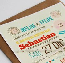 SEBASTIAN. Um projeto de Ilustração, Direção de arte, Design gráfico e Tipografia de Ro Ledesma         - 09.12.2014