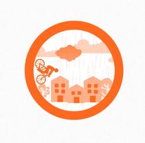 Intro 2D para evento: Bicity. Um projeto de Motion Graphics de Carmen Aldomar         - 21.04.2015