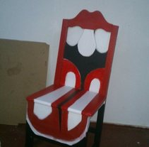 SILLA ROLLING STONES. A Jewelr, and Design project by Pachucho Madrid         - 25.07.2015