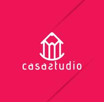 logotipo casa studio!. Un proyecto de Diseño, Br e ing e Identidad de Jose Anaya Ugalde         - 30.07.2015