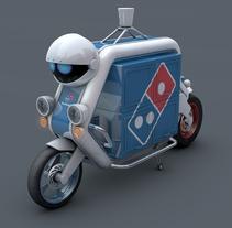 DOMINOS - NODRIVER BIKE - VFX. Un proyecto de 3D, Animación y VFX de Milo Massacci         - 31.03.2015
