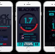 Blackout App.. Un proyecto de Br, ing e Identidad y Arquitectura de la información de Junior Vendrami - 17-08-2015