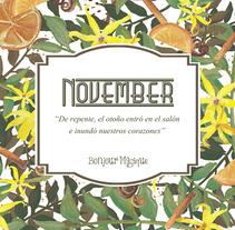 Vela November de Canela, Naranja e Ylang Ylang. Un proyecto de Packaging de Beatriz Sánchez Ortiz         - 18.08.2015