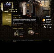 posadadesajazarra.com. A Web Design, Web Development, Design&Interactive Design project by Eloy Ortega Gatón - Aug 23 2015 12:00 AM