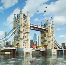 Lego London Bridge. A Advertising, 3D, and Art Direction project by JVG         - 22.08.2015