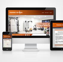 Web para Training for you. A Design, Br, ing, Identit, Graphic Design, Web Design, and Web Development project by Borja González de Rivas         - 19.11.2014