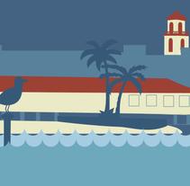 Turismo de Los Alcázares. Un proyecto de Diseño e Ilustración de Laura Losilla         - 21.01.2014