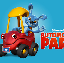 AutoMobilePark. A 3D, and Character Design project by comics26 - 27-08-2015