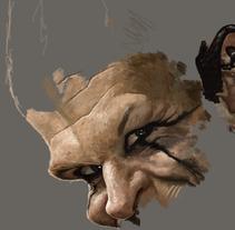 Vikings Caricatura.. Un proyecto de Diseño, Ilustración, Diseño de personajes, Bellas Artes, Diseño gráfico, Pintura y Comic de omarorons         - 28.08.2015