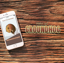 Wake up! Groundhog - App para iOs. Um projeto de Design de jogos e Design interativo de Silvia Fernández-Pacheco         - 20.05.2015