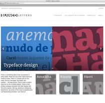 BLANCO letters: proyecto del curso Iniciación al Diseño Web con WordPress. Un proyecto de Caligrafía, Diseño editorial, Diseño gráfico y Tipografía de Juan Luis Blanco Aristondo - Jueves, 03 de septiembre de 2015 00:00:00 +0200