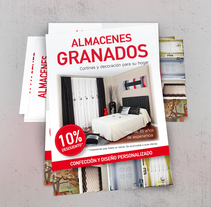 Folleto publicitario | Almacenes Granados. A Design, Advertising, Graphic Design, Information Design, and Marketing project by Noemí Luque         - 15.09.2015