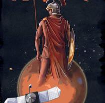 Marte. Un proyecto de Bellas Artes, Diseño, Diseño gráfico e Ilustración de Isabel Martín - Viernes, 18 de septiembre de 2015 00:00:00 +0200