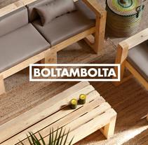 Boltambolta. Un proyecto de Diseño editorial y Diseño gráfico de Baptiste Pons         - 20.09.2015