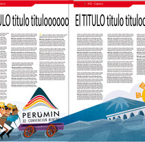 Ilustracion para revista . A Editorial Design&Illustration project by Carlos  Nava - Sep 24 2015 12:00 AM