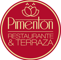 Identidad corporativa Restaurante Pimentón. Tarjetas. A Br, ing, Identit, and Graphic Design project by Alicia         - 28.09.2015