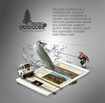 chooseoutdoors. A Web Development project by Eliana Diehl - 28-06-2015