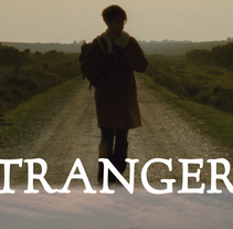 Strangers (shortfilm) Poster. A Advertising, and Graphic Design project by Matias Pescador         - 31.05.2015