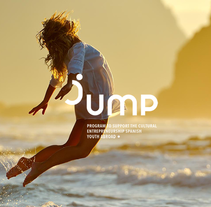 Jump. A Br, ing, Identit, Cop, writing, Art Direction, Design, Graphic Design, Education, and Advertising project by Arturo Hernández - Oct 06 2015 12:00 AM