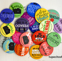 Chapas para bodas Tupecito´s Family. A Product Design project by Alfonso         - 15.10.2015