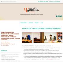 WEB Villalón Consultoria. Um projeto de Web design de Moisés Escolà Martínez         - 17.10.2014