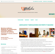 WEB Villalón Consultoria. Un proyecto de Diseño Web de Moisés Escolà Martínez         - 17.10.2014