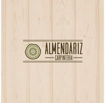 Identidad corporativa Almendáriz Carpintería. A Br, ing, Identit, Graphic Design, and Web Design project by Irene         - 22.10.2015