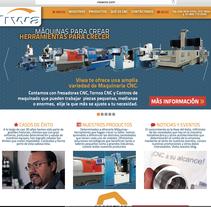 VIWA CNC. A Web Design project by Juan Pablo Calderón Preciado - 02-08-2015