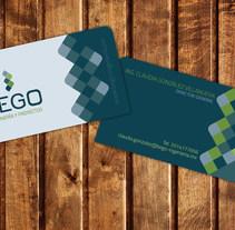 BEGO, INGENIERÍA Y PROYECTOS. A Br, ing, Identit, and Graphic Design project by Juan Pablo Calderón Preciado - 02-08-2015
