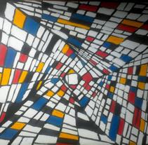 lluvia de colores. Un proyecto de Ilustración de tatis_rodriguez - 24-10-2015