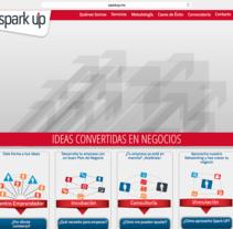 SPARK UP. Um projeto de Web design de Juan Pablo Calderón Preciado - 24-10-2013