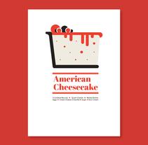 Dessert Icons. Un proyecto de Diseño, Dirección de arte, Diseño gráfico y Diseño de la información de Maria Suarez-Inclan - 26-10-2015