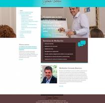 Germán Barrena. Un proyecto de Diseño Web de La Teva Web Diseño Web  - 26-10-2015