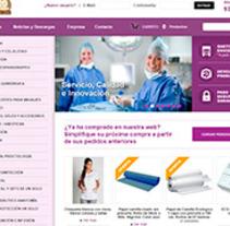 DH Material Médico. Un proyecto de Diseño Web de La Teva Web Diseño Web  - Martes, 27 de octubre de 2015 00:00:00 +0100