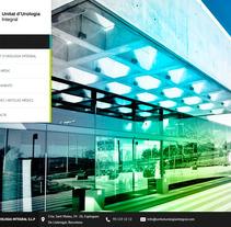 Unitat d'Urologia Integral. Un proyecto de Diseño Web de La Teva Web Diseño Web  - 26-10-2015