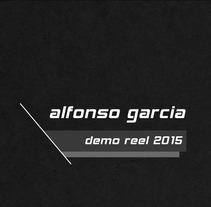 DEMO REEL 2015. A Design, Advertising, Motion Graphics, Film, Video, TV, 3D, Animation, Architecture, Fashion, Interior Architecture, Marketing, Multimedia, Post-Production, and Video project by Alfonso García         - 28.10.2015