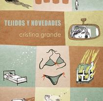 Tejidos y Novedades. A Illustration project by Clara León         - 28.10.2015