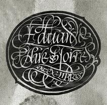 eat ex-libris. A Calligraph project by Eduardo Aire Torres         - 28.10.2015